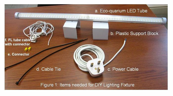 A Diy Fixture Can Be Easily Made Step By Guide Is Shown Below All Parts Cost Less Than 5 Dollars And Purchased From Me Or Local Hardware