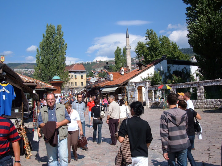 The Main Square in Baščaršija
