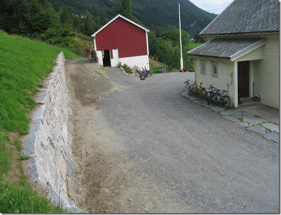 Mur, Helge Ressem. Sommaren 2006 021