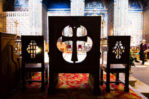 Chœur de la cathédrale Sainte-Cécile d'Albi - Photo Philippe Gassmann - Flickr
