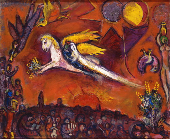Marc Chagall - Le Cantique des Cantiques IV, 1960