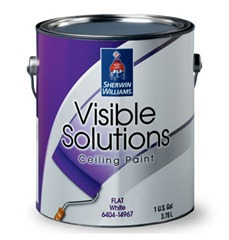 Sherwin Williams Visible Solutions Ceiling Paint