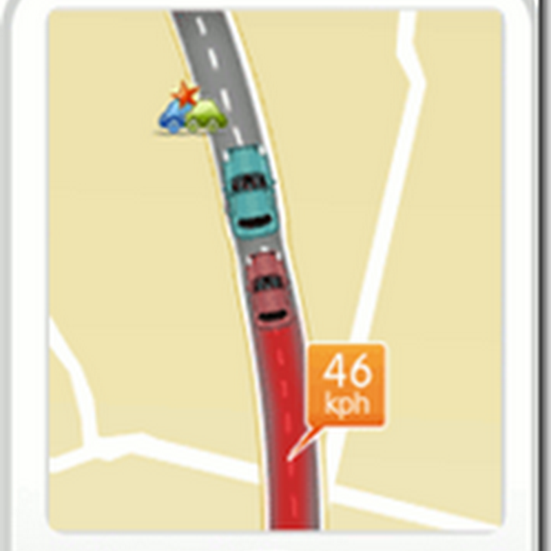 Driver Generated Live Maps & Read Time Traffic Update
