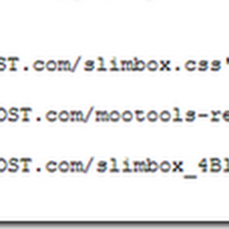 How to Add Slimbox Lightbox in Blogger/Blogspot