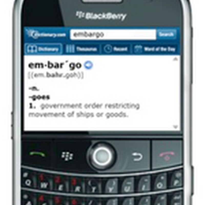 Free Dictionary for BlackBerry with Audio and Multilanguage support