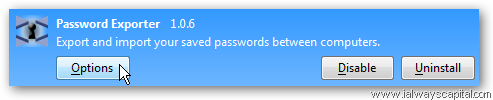 Mozilla Firefox Password Exporter