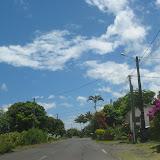 Typische Küstenstraße an der Ostküste