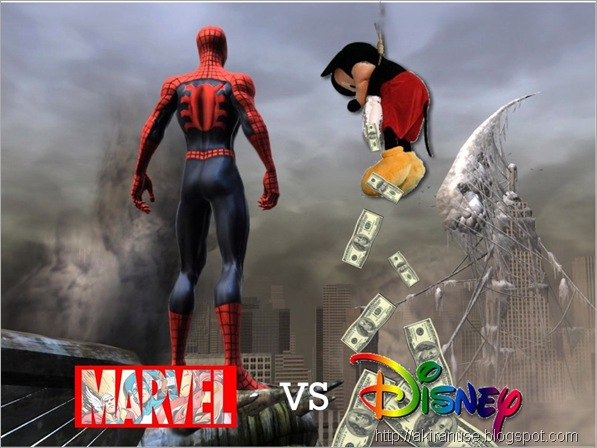 Marvel vs Disney