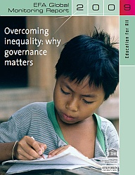 Cover of the EFA Global Monitoring Report 2009