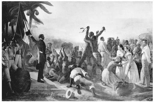 ABOLITION OF COLONIAL SLAVERY