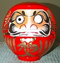 daruma (amuleto de salud japonés)