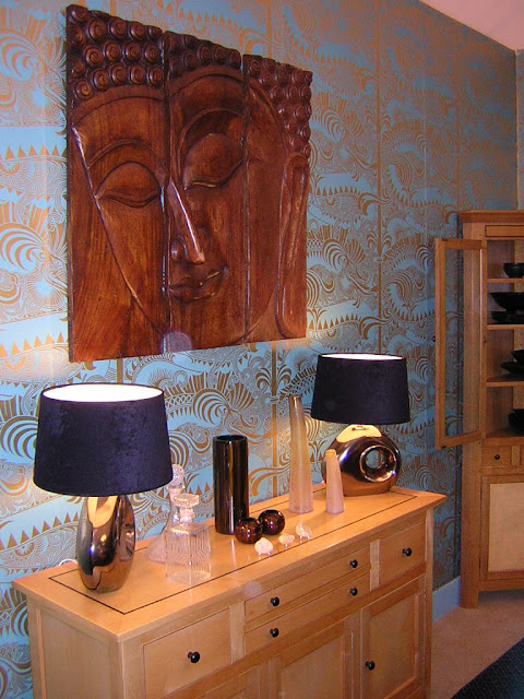 Wall art decorating ideas interior buddha home decor for Buddha decorations for the home uk