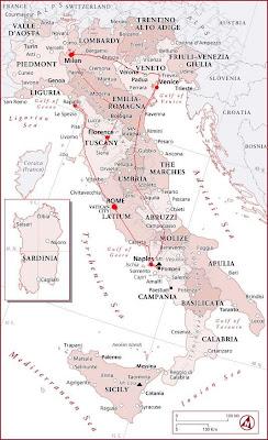 暴走亚平宁、悠游爱琴海--告别意大利 - 咖友 - 心中有路