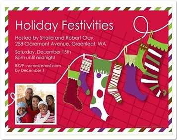 HP festive holiday invite