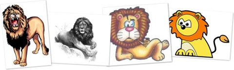 View fee lion clipart