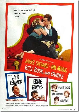 poster for bell book and candle film