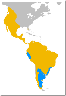 cougar range-IUCN