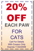 20 percent of declawing coupon 3
