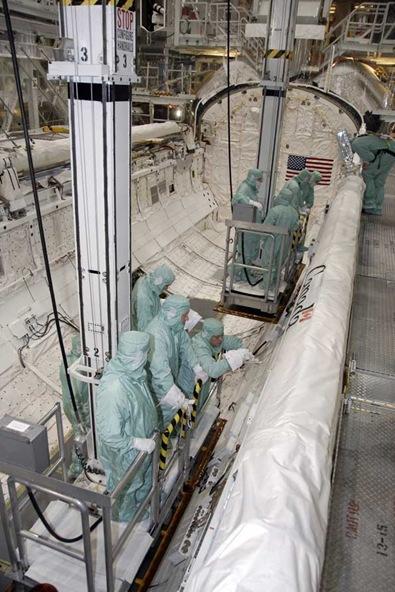 A Instalação de Processamento do Orbitador 3, em fotografia de 11/06/2009 (Foto: NASA)