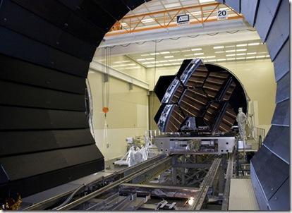 Espelhos foram submetidos a 248°C negativos (Foto: Emmett Givens/NASA e MSFC)