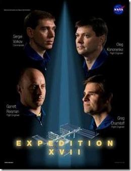 """Expedição XVII, """"Armageddon""""(Foto via G1)"""
