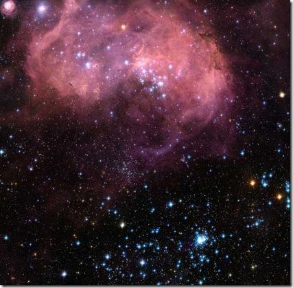 N11 em nova fotografia pelo Hubble (Foto: Jesús Maíz Apellániz, Instituto de Astrofísica de Andalucía) / NASA / ESA)