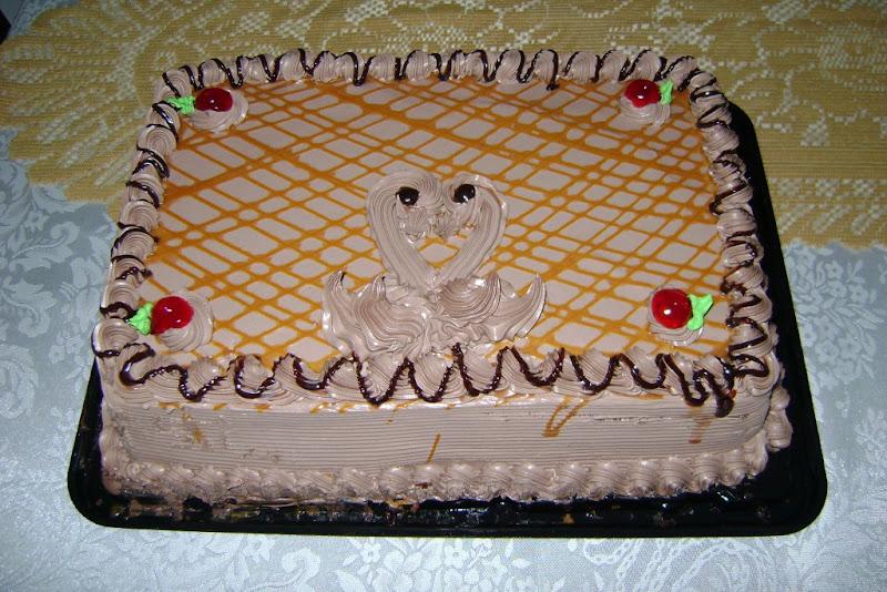 my birthday choco cake