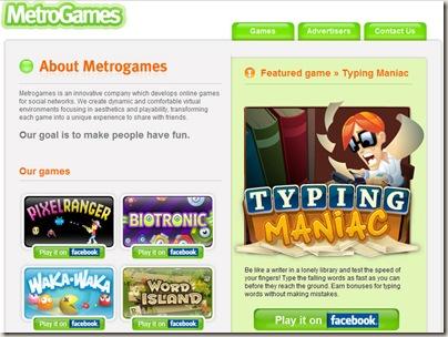 MetroGames