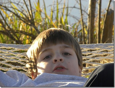 Daniel in the hammock