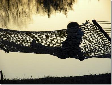 SL in the hammock 2