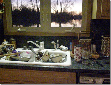 6 messy, messy kitchen