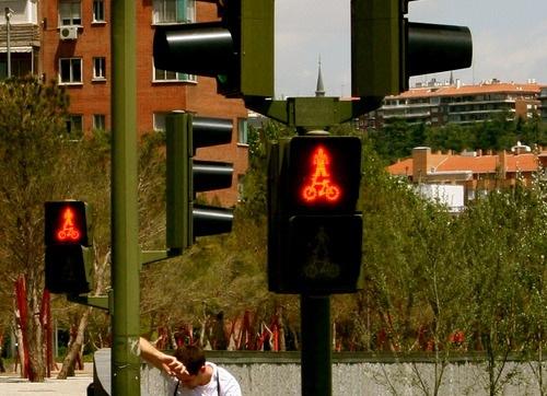 dick traffict light