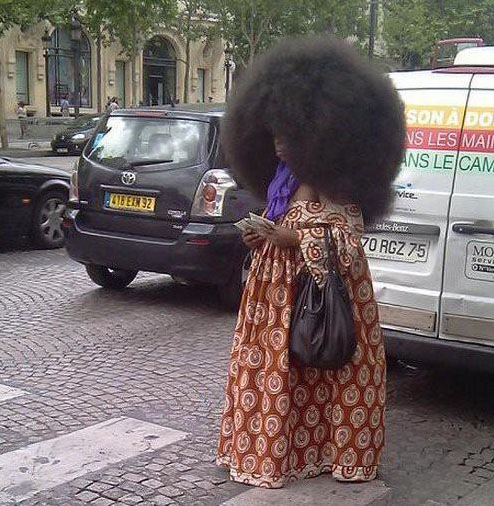 biggest afro ever
