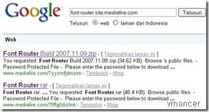 font router site-mediafire.com - Telusuri dengan Google