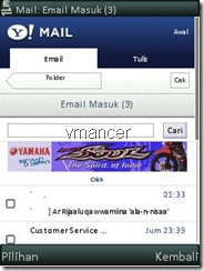 mail yahoo mobile