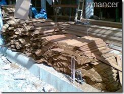 kayu ulin (besi) untuk atap sirap