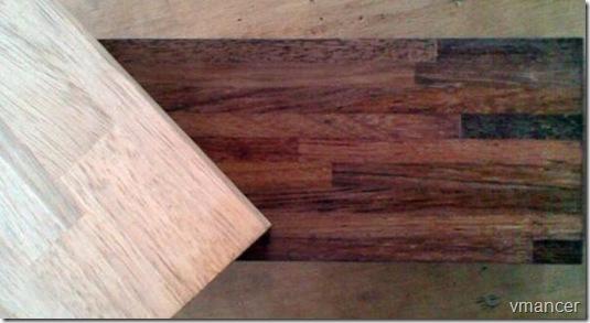 kayu merbau daur ulang-kusen
