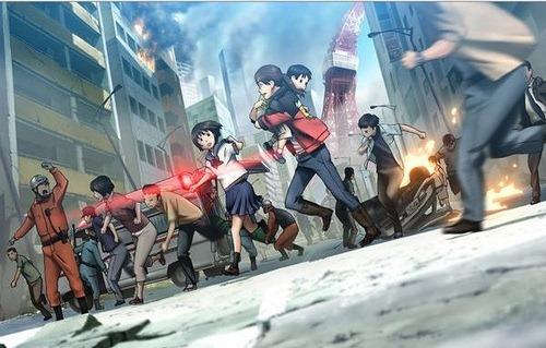 tokyo magnitude 8,0 anime