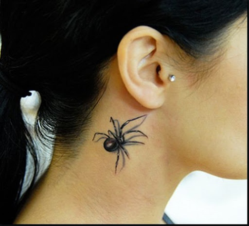This would have to be the most realistic looking spider tattoo I have ever