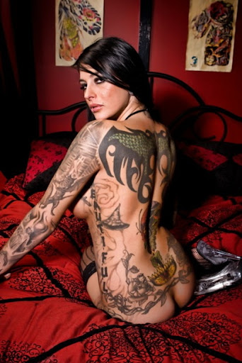Here is the latest in Raw deconstructed Tattoos. Tattooed Women
