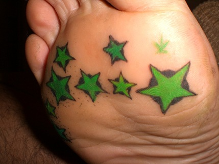 Sample Image from our new Star Design Tattoo Flash E book.