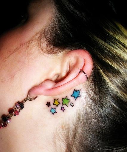 star tattoos for wrist. shooting star tattoo images tribal celtic tattoo