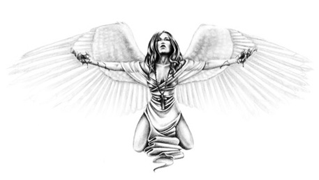 sexy angel wings tattoos gallery images are very good with a variety of new collections with a variety of types