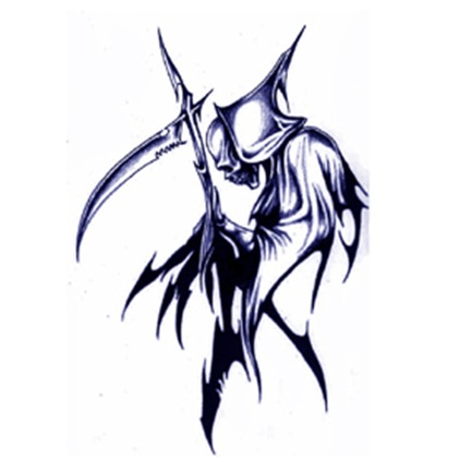 Tattoo Designs Grim Reaper