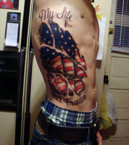 Tattoos: Military Tattoos_Thousands of Free Tattoo Designs and Outlines