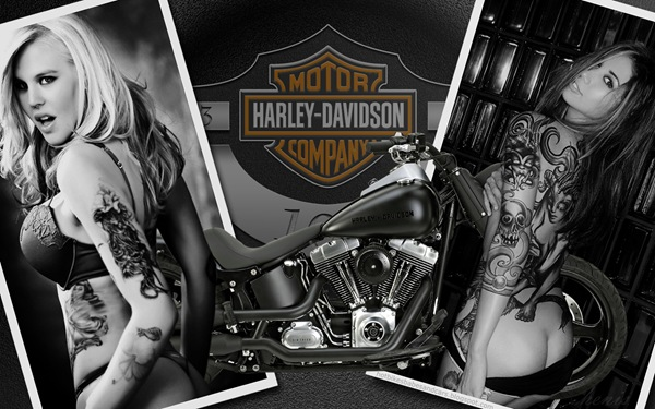 harley_davidson_4_and_hot_women_wallpaper