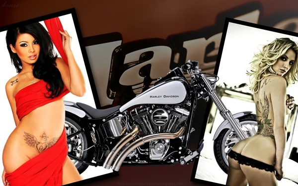 harley_davidson_5_and_hot_women_wallpaper