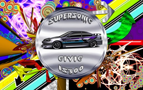 supersonic civic is300