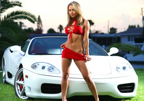 beautiful women and fast cars 10