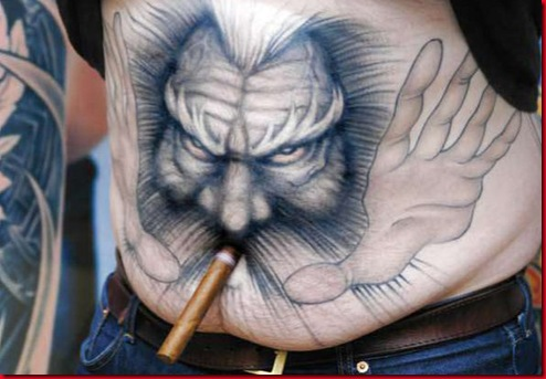 bizarre tattoos